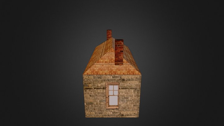 Estes Sod House 3D Model