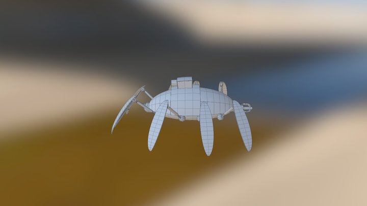 Spider Robot 3D Model