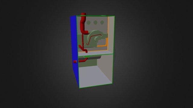 Gas Furnace Applications 3D Model