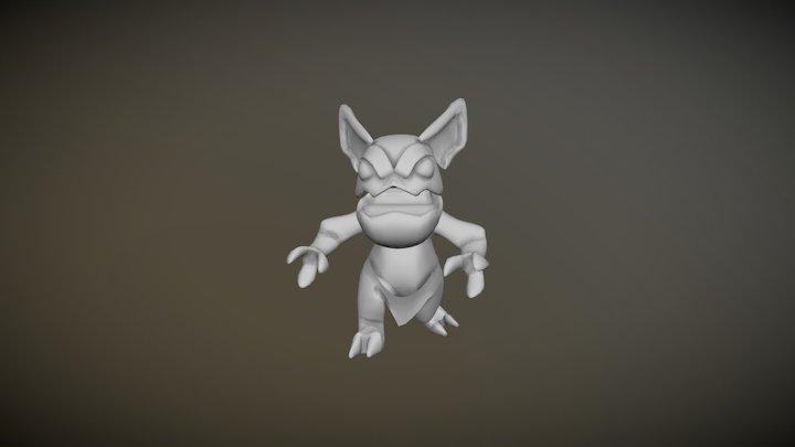Little troll 3D Model