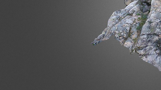 Aljibe-Dolmen. P.N. de la Sierra del Guadarrama 3D Model