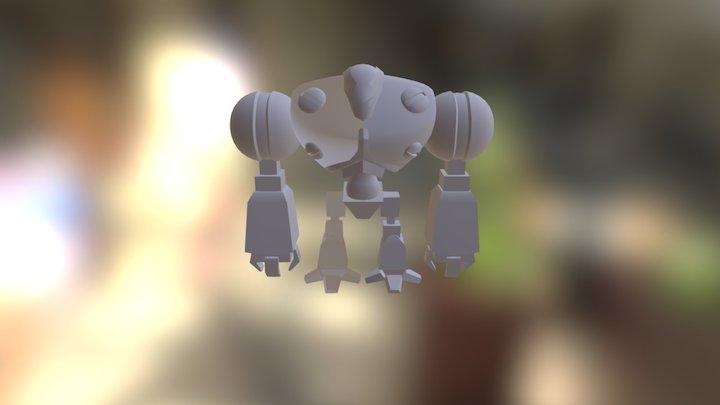 07-(b) Robot - Refine Head and Torso 3D Model