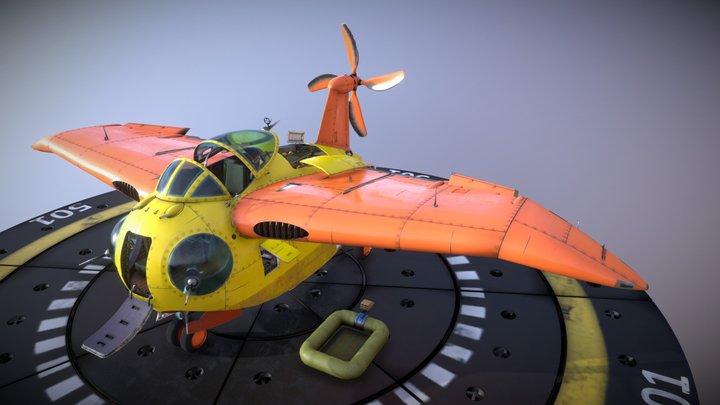 Falco refit flying boat 3D Model