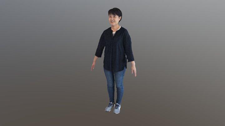 person1 3D Model