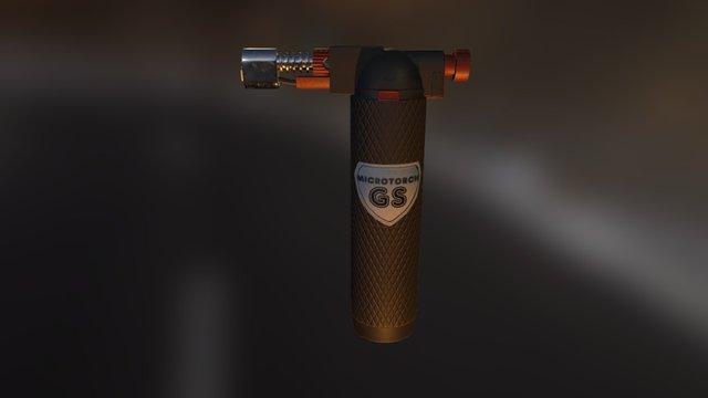 Micro torch 3D Model