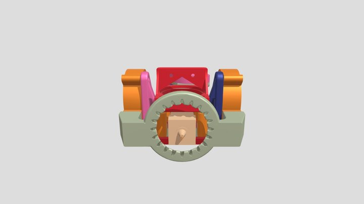 Orbiter direct drive extruder with BL-T 3D Model