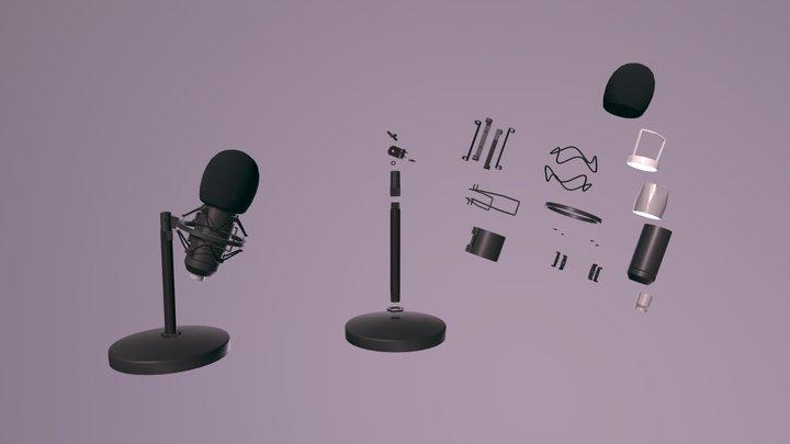 HW7 Microphone (anatomy) / re-upload 3D Model