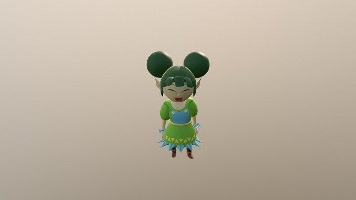Farore Idle 3D Model