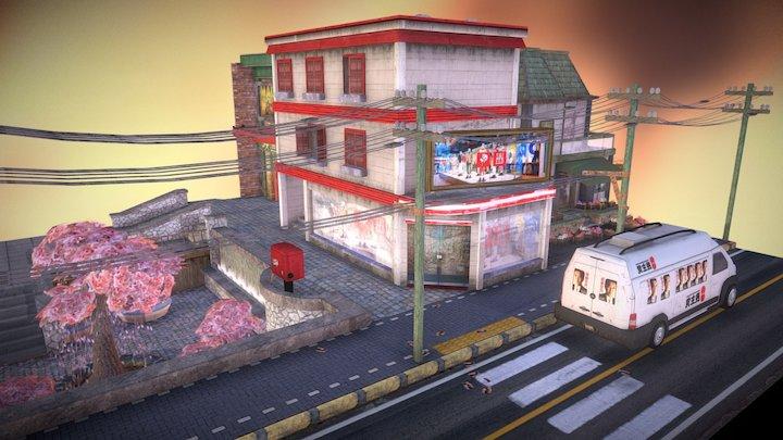 Cityscene Tokyo 3D Model