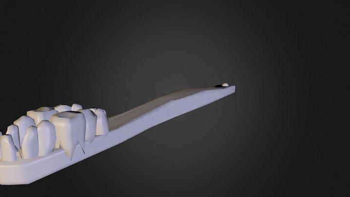 Toothbrush 3D Model