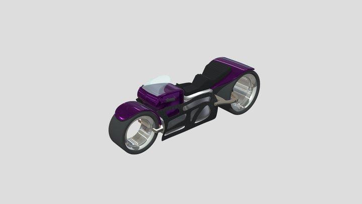 Scifi Bike for #DiscordMotorcycleChallenge 3D Model