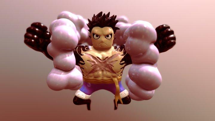 Luffy Gear 4 3D Model