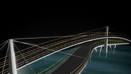 CHR-M-A-3D-BRIDGE 3D Model