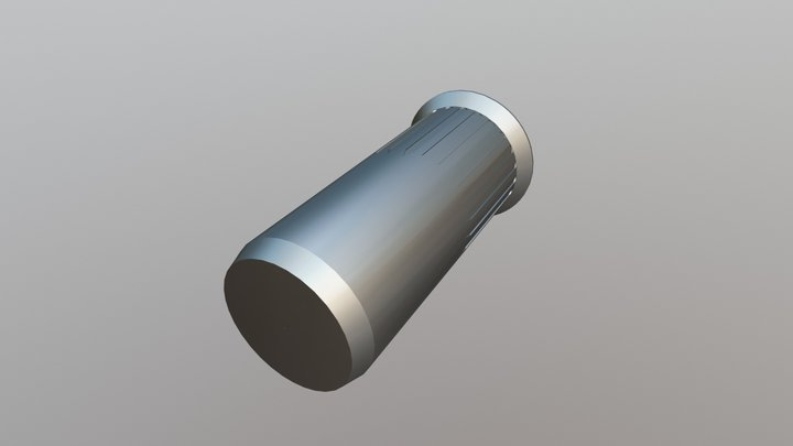 Rivet Nut - CSK Head Serrated Closed End 3D Model