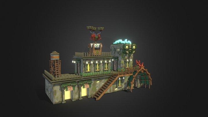 Farmers' Market 3D Model