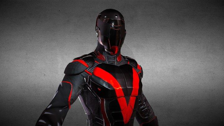 Vigilante 3D Model