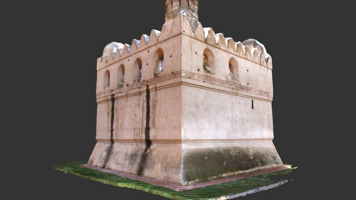 2017 2018 TFG Torre de Martíl 3D Model