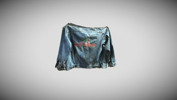 Rolling Stone jacket - Earth Day 3D Model