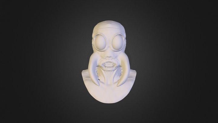 MudBox Bust 3D Model