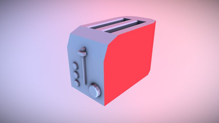 Toaster - Household Props Challenge 3D Model