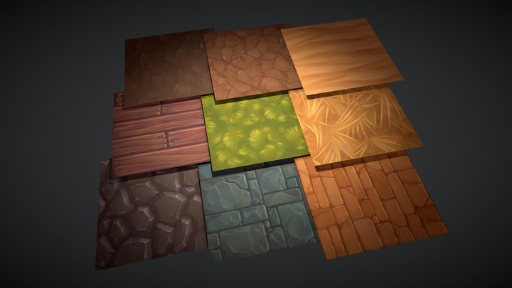 Texture Pack 3D Model