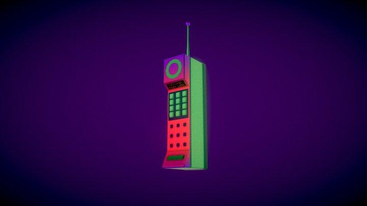 Celly McPhoneFace 3D Model