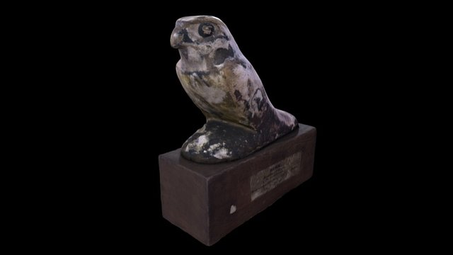 Ancient Egyptian statuette 3D Model