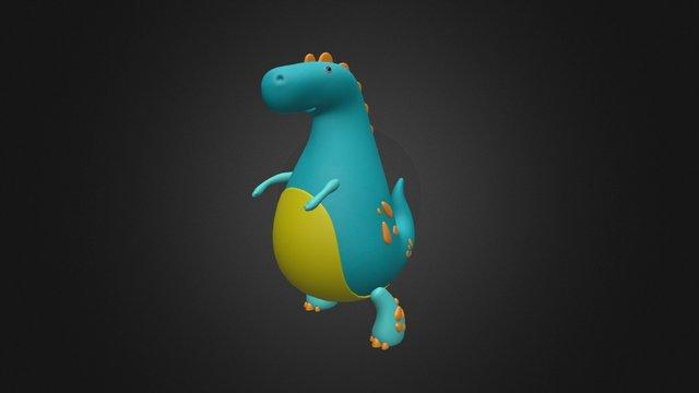 Dino2 3D Model