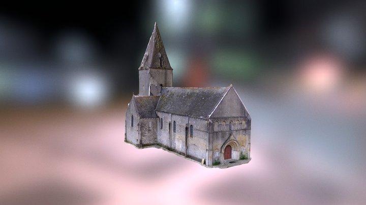 église de Meuvaines 3D Model
