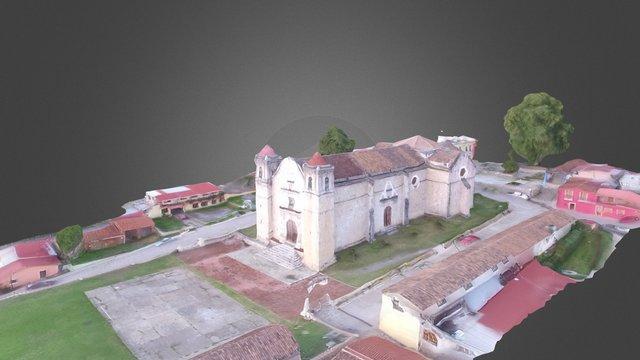 Centro de Capulalpam de Méndez, Oaxaca. 3D Model