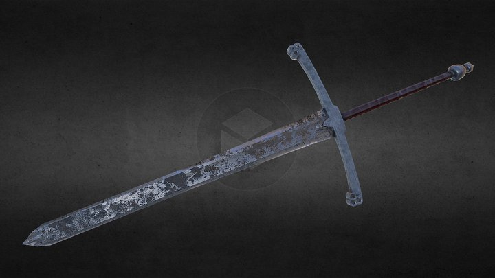 Medieval Sword - Substance paint 3D Model