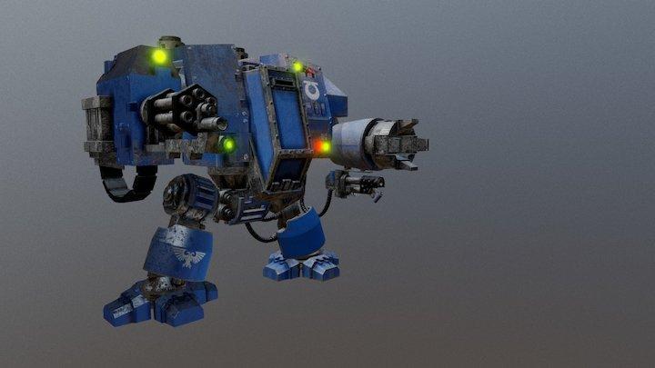 WARHAMMER 40,000 DREADNOUGHT ULTRAMARINES 3D Model