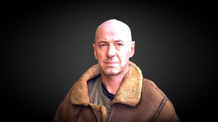 Barry Andrews 3D Model