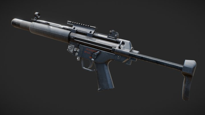 MP5SD 3D Model