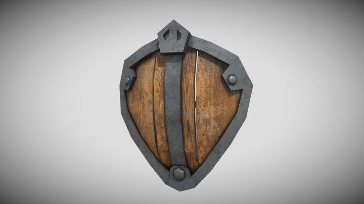 simple shield 3D Model