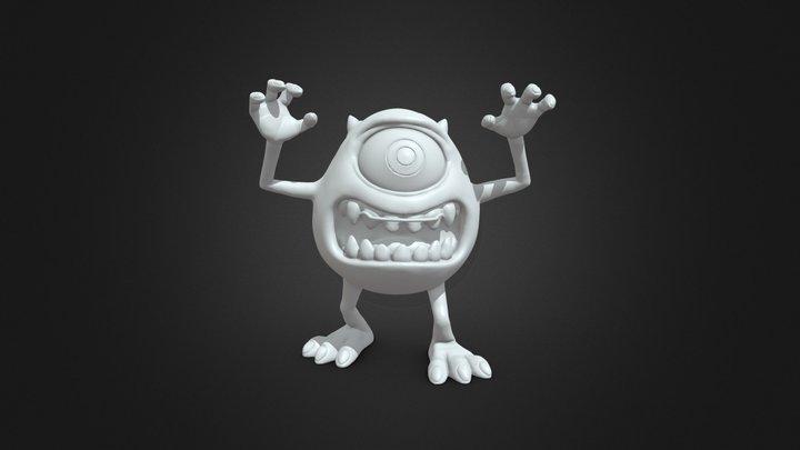 Mike Wazowski(Monsters University) 3D Model