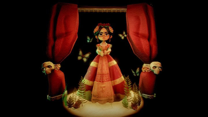 Frida 3D Model