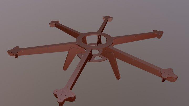 Dronecoria Frame 0.2 3D Model