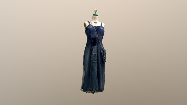 Upcycle garment scan 3D Model