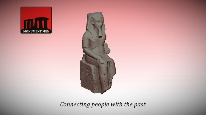 The Complete Younger Memnon: #CHRemixChallenge 3D Model