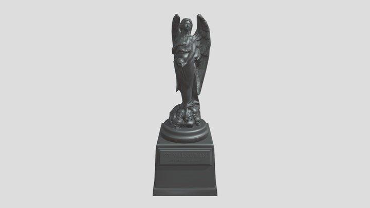4 statue 3D Model