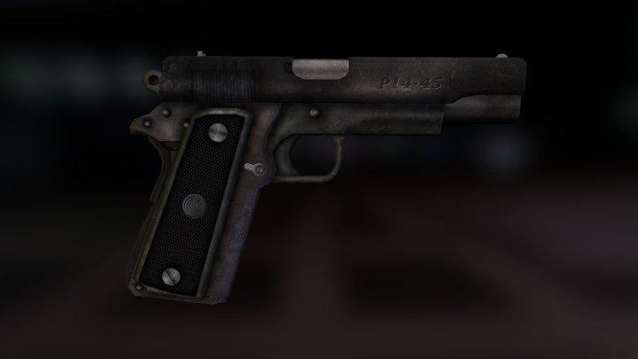 P-14 Pistol 3D Model