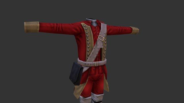 Uniform_3_British 3D Model