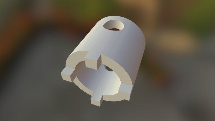 Tool for disassemble swing arm DL650 3D Model