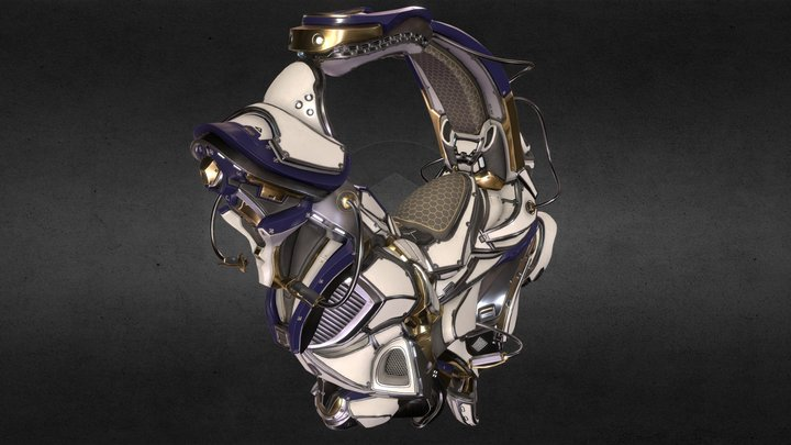 bike_scifi_01 3D Model