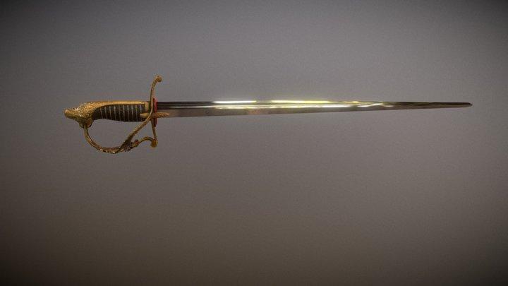 Espada Artigas 3D Model