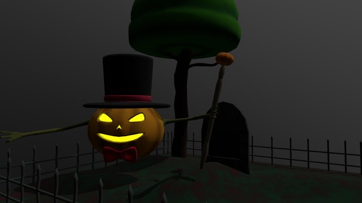 Mr.Pumpkim 3D Model