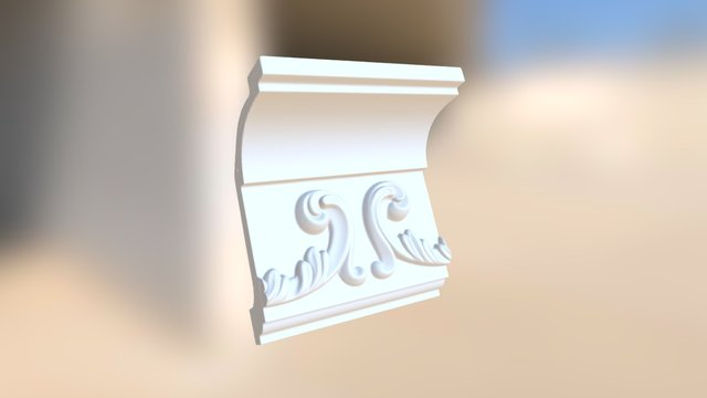 molding3 3D Model