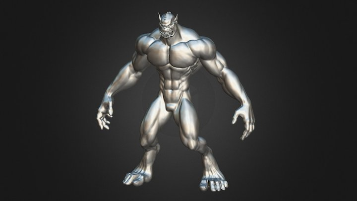 My Moster 3D Model