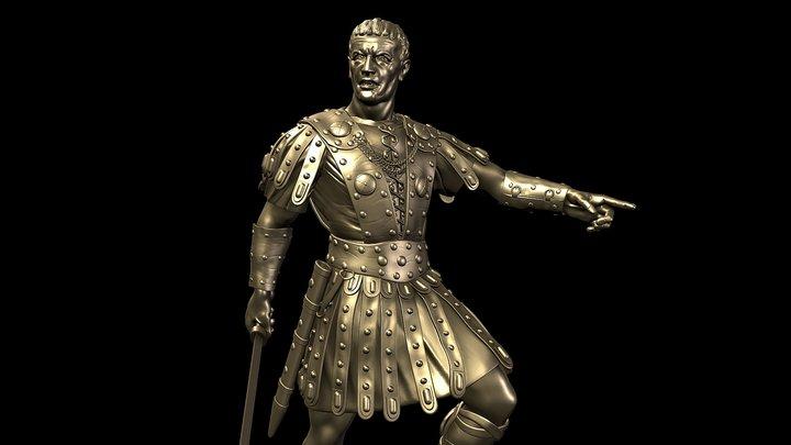Roman General - 3d printable 3D Model